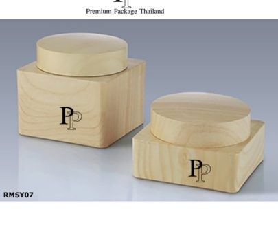 RMSY07 JAR CREAM PREMIUM PACKAGE WOOD